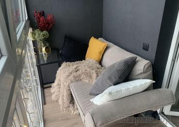 Минчанка сделала крутой балкон за 1260 рублей
