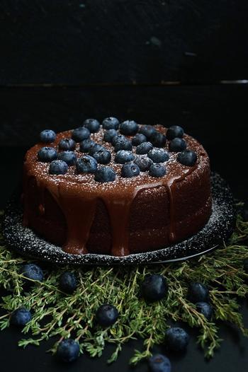 Шоколадный торт на раз, два, три