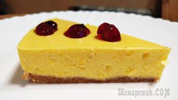 Тыквенно-яблочный десерт без выпечки