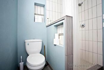 Примеры обустройства маленького санузла, которые стоит реализовать в своей квартире