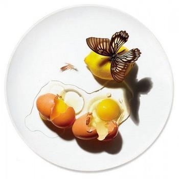 Объемные рисунки на посуде