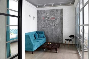 Маленькая квартира для молодой семьи в Сколково