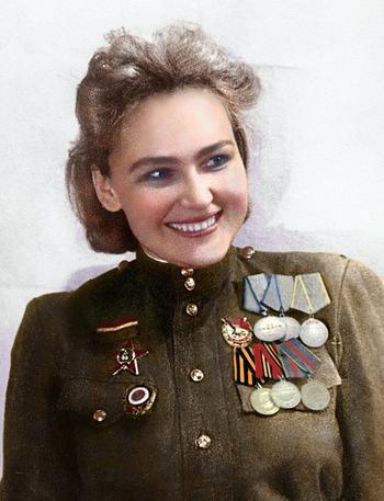 Разведчик Софья Аверичева