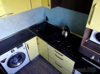 Моя кухня: компактная и со складными розетками