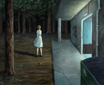 Меланхолические картины, которые так похожи на иллюстрации к психологическим триллерам