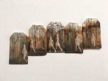 Вторая жизнь чайных пакетиков от художницы Руби Силвиес