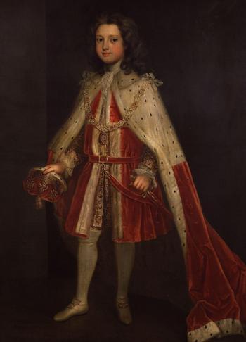 Ирландский художник Чарльз Джервас (1675-1739)