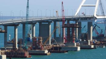 Крымский мост в ожидании президента. Подходы за несколько дней до открытия