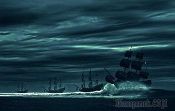 Что изображали пираты прошлого на своих флагах и как появился Веселый Роджер