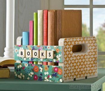 Книги в интерьере: идеи декорирования