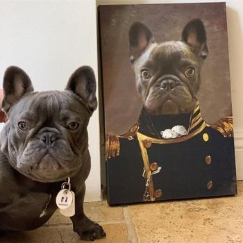 Компания превращает домашних животных в портреты эпохи Возрождения