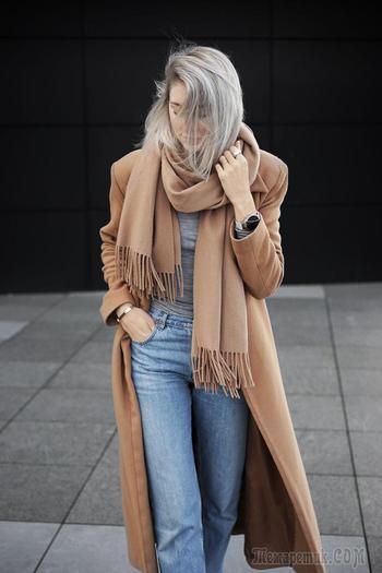 26 способов красиво носить шарфы в 2020