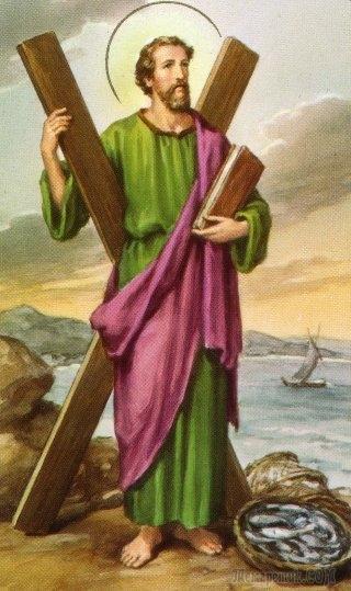Андрей Первозванный-один из апостолов Иисуса Христа