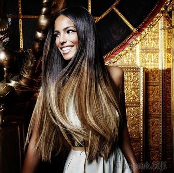 Балаяж на русые волосы — Секреты окрашивания 2017