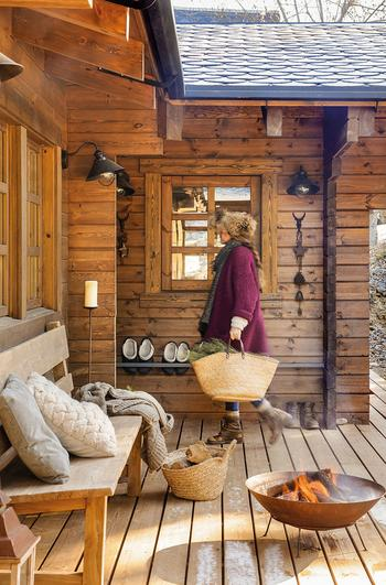 Современный деревянный дом-мечта в Испании