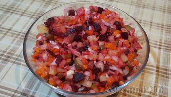 Самый известный советский салат без майонеза