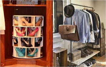20 толковых идей, которые помогут найти дополнительное место для хранения вещей