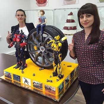 Умопомрачительные торты Рената Агзамова