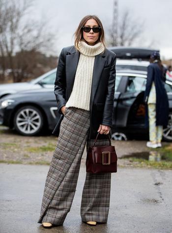 Как избежать ошибок с широкими брюками
