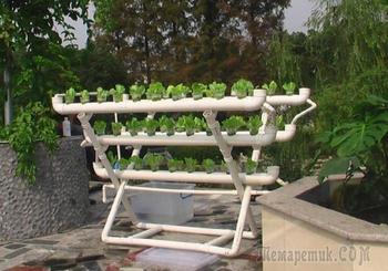 Оригинальные идеи из ПВХ труб, которые пригодятся на даче и дома