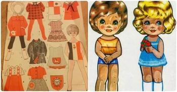 Бумажные куклы советского детства