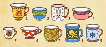 Тест: выберите чашку и узнайте, что думают о вас английские психологи