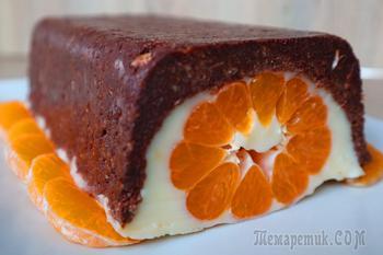 "Десерт без выпечки ""Мандарин"""