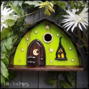Скворечники, которые станут украшением в любом саду