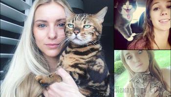 20 котов, которые всей душой ненавидят селфи