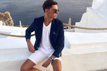 Пляжная мужская мода 2020