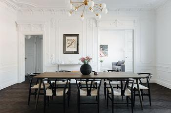 Элегантный дизайн, выверенный в каждой линии: квартира в Стокгольме