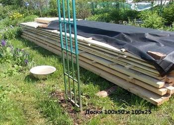 Как я прошлым летом строила садовый домик своими руками.