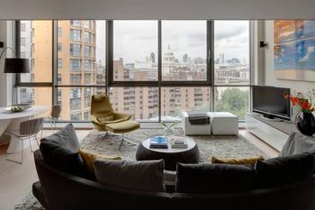 Двухуровневая квартира с красивым видом на Лондон