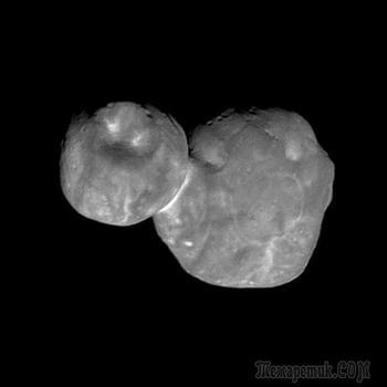 Самый подробный на сегодня снимок объекта Ultima Thule от зонда New Horizons