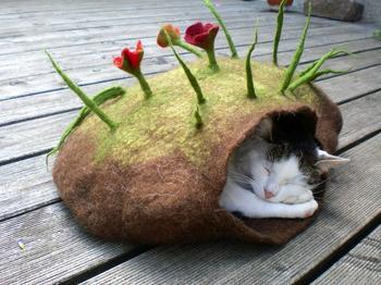 Войлочные гнезда для кошек