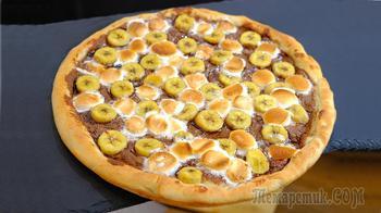 Сладкая пицца