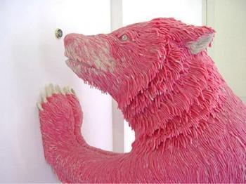 Произведения искусства, созданные из неожиданно необычных материалов