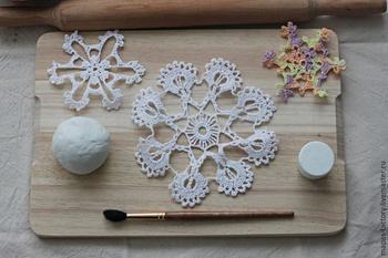 Создаем вместе с ребенком «керамическую» тарелочку из самозатвердевающей массы