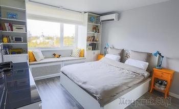Светлая квартира 50 м²