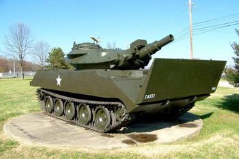 Легкий танк M551 Sheridan (США)
