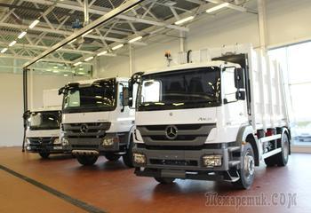 Грузовой сервис Mercedes-Benz в Пушкино