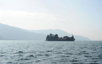 Монте-Изола на озере Изео