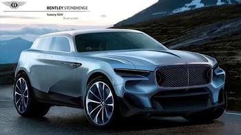 Кроссовер Bentley Stonehenge отправит на пенсию седан Mulsanne
