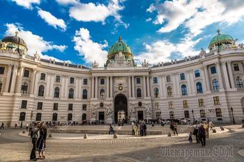 Вена 6. Императорский дворец Хофбург