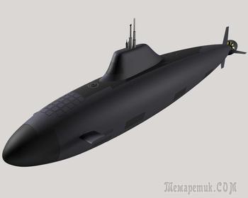 «Хаски» – российская субмарина пятого поколения