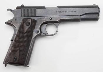 Армейский пистолет в США, часть 1