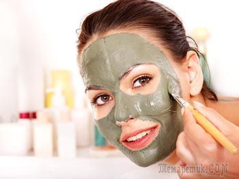Зеленая глина для лица – маски и свойства