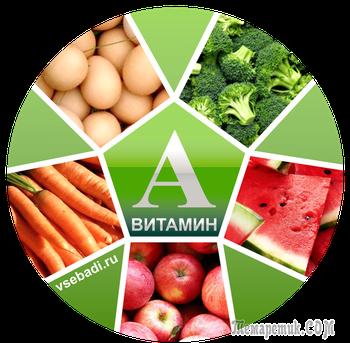 В каких продуктах содержится витамин А: 10 суперфудов для вашего здоровья