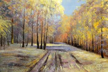 Русские пейзажи от художника Соколова А.Н.