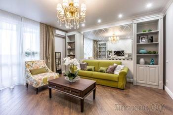 Квартира с яркими акцентами в Самаре